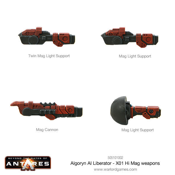 Algoryn Liberator with full Weapon Options