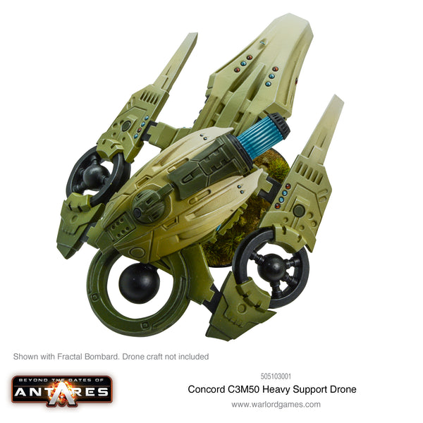 C3M50 heavy support drone turret