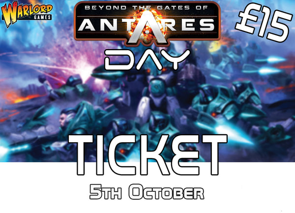 Antares Campaign Day Event Ticket: Ghost of Yu Hamnu (5th October 2019)