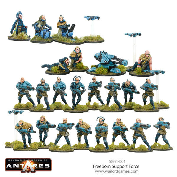 Freeborn Support Force