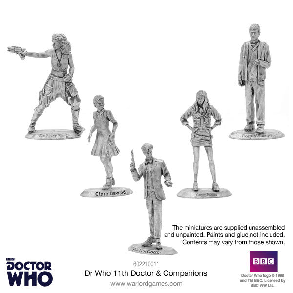 Dr Who 11th Doctor & Companions