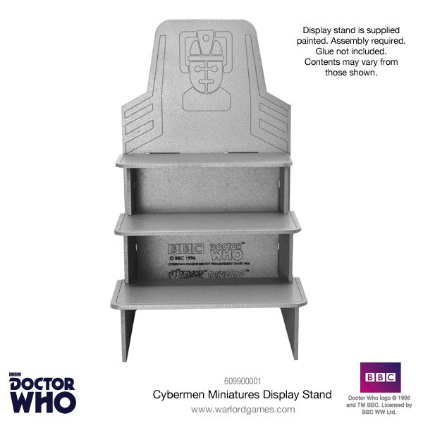 Doctor Who Cybermen Display Stand