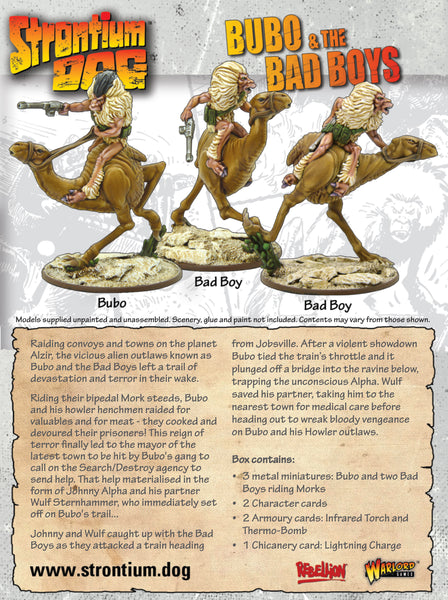 Strontium Dog: Bubo and the Bad Boys