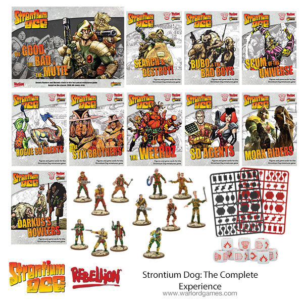 Strontium Dog: The Complete Experience