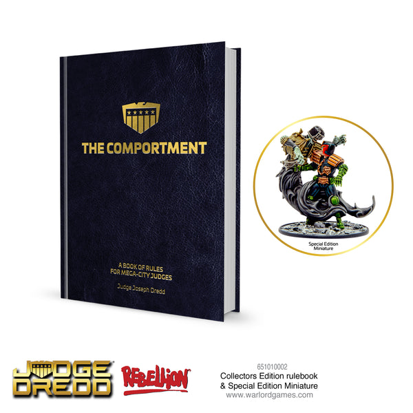 Judge Dredd Collectors Edition Rulebook