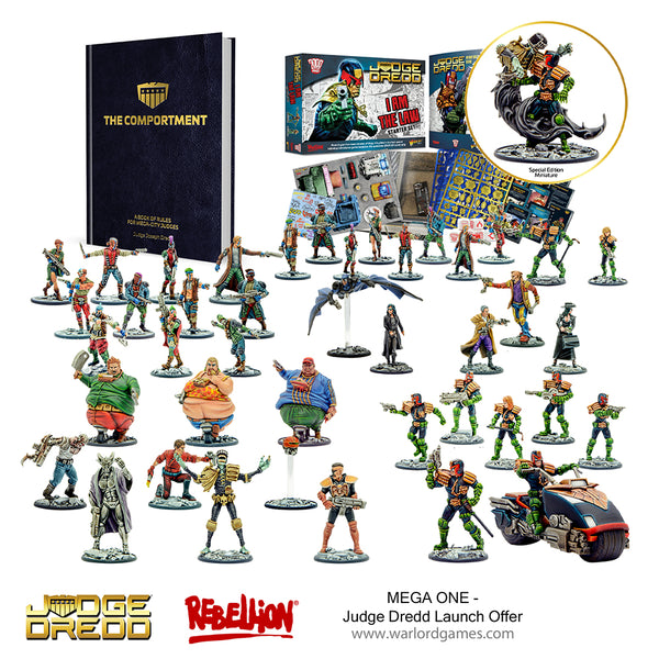 Judge Dredd: MEGA ONE