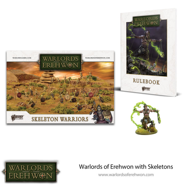 Warlords of Erehwon with Skeletons