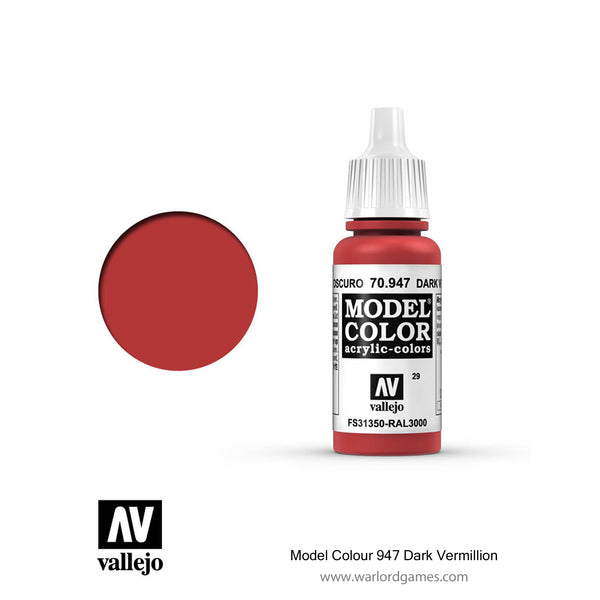 Model Colour 947 Dark Vermillion