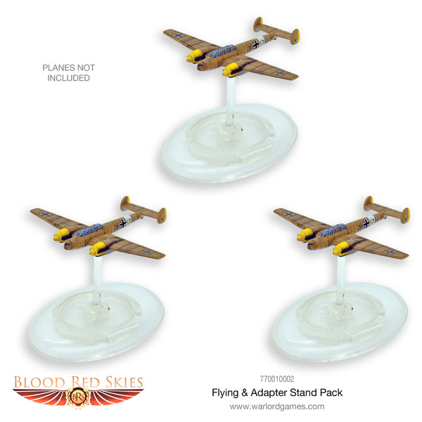 Blood Red Skies Advantage Flying & Adaptor Stand pack