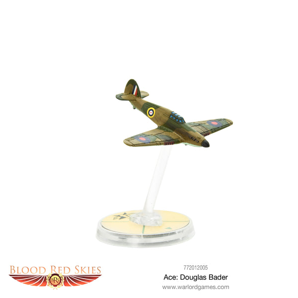 Blood Red Skies British Ace Pilot Douglas Bader 1:200