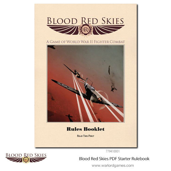 Blood Red Skies PDF Starter Rulebook