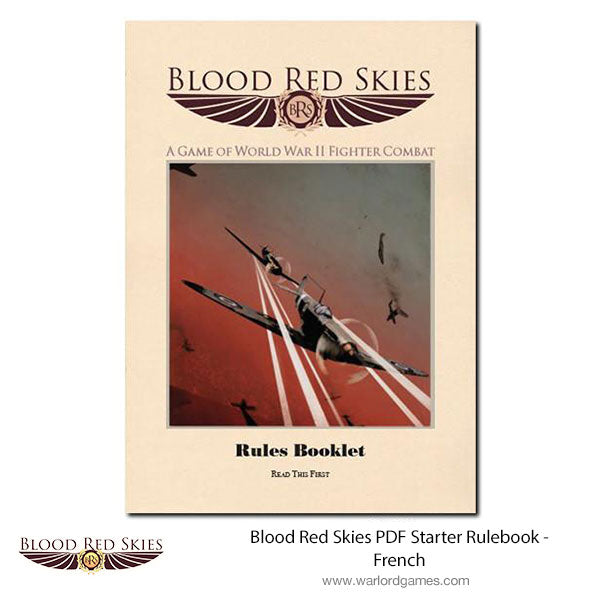 Blood Red Skies PDF Starter Rulebook – German