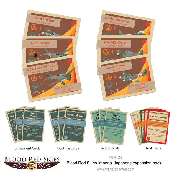 Blood Red Skies Imperial Japanese expansion pack