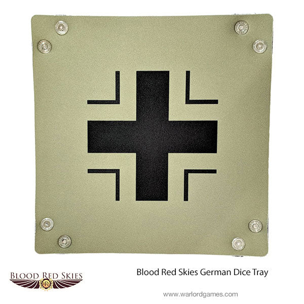 Blood Red Skies German Dice Tray