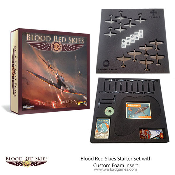 Blood Red Skies Starter Set with Custom Foam insert