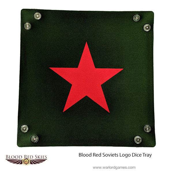Blood Red Soviets Logo Dice Tray