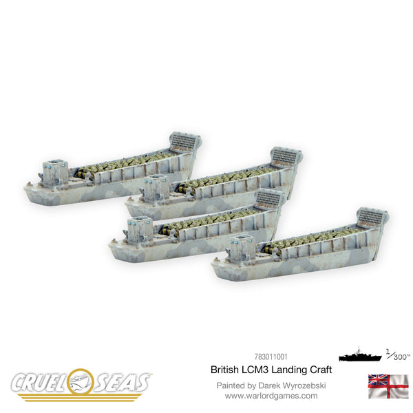 British LCM3 Landing craft