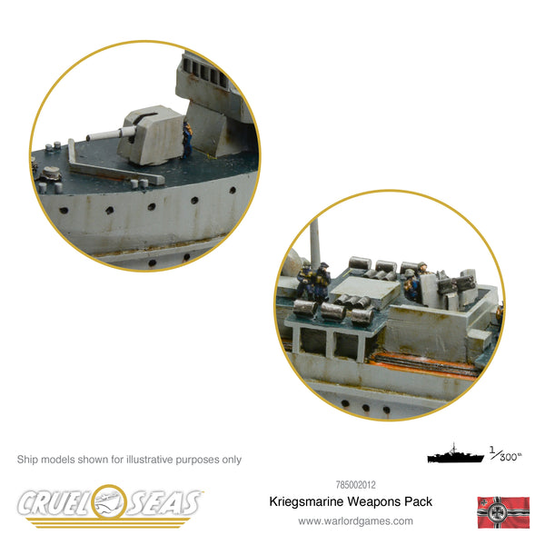 Cruel Seas Kriegsmarine weapons pack
