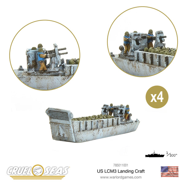 US LCM3 Landing craft