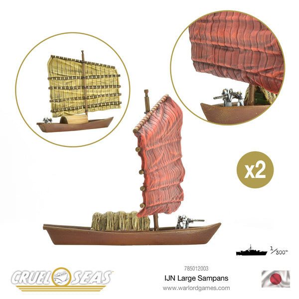 IJN Large Sampans