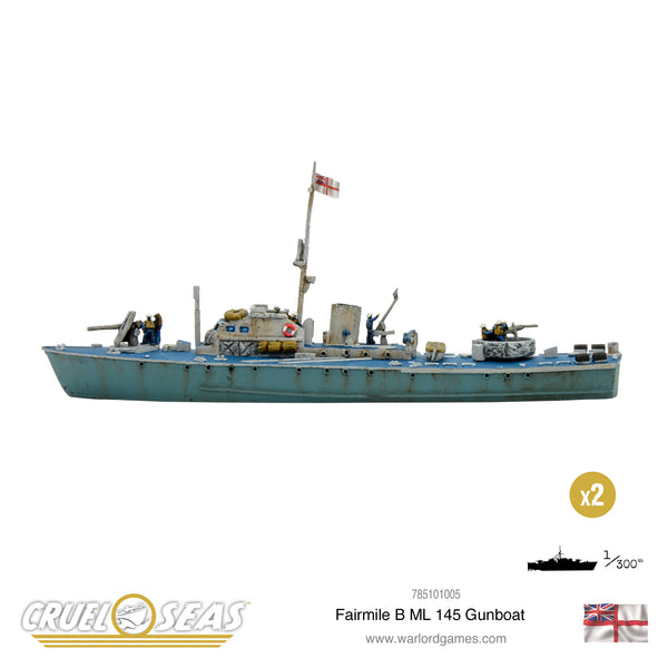 Cruel Seas: Fairmile B ML 145 Gunboat