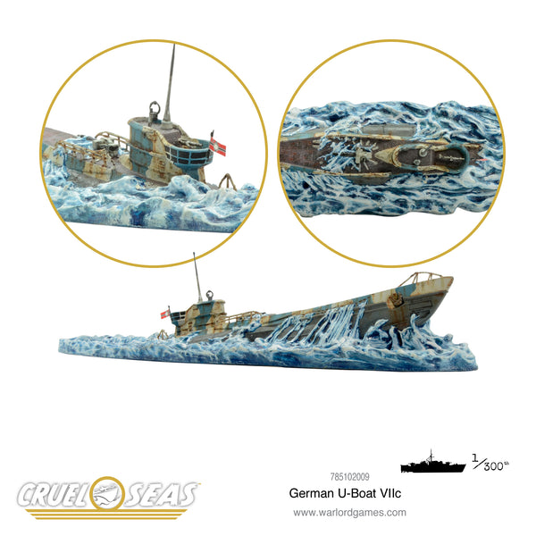 Cruel Seas: German U-Boat VIIc