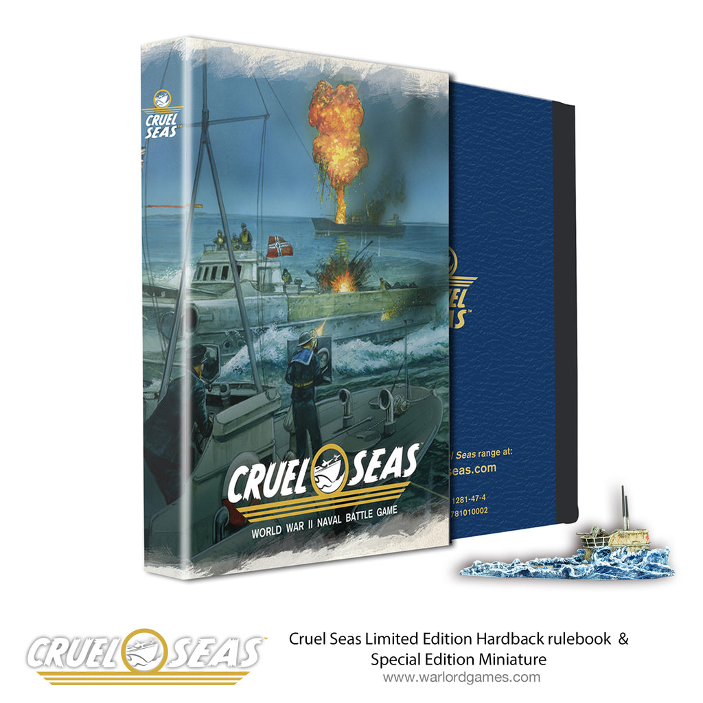 Cruel Seas Limited Edition Hardback Rulebook