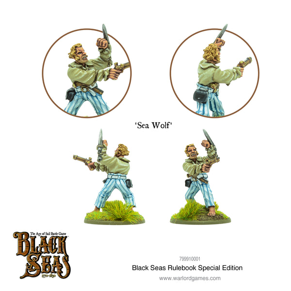 Black Seas Rulebook Limited Edition