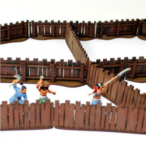 Village Wooden Fencing