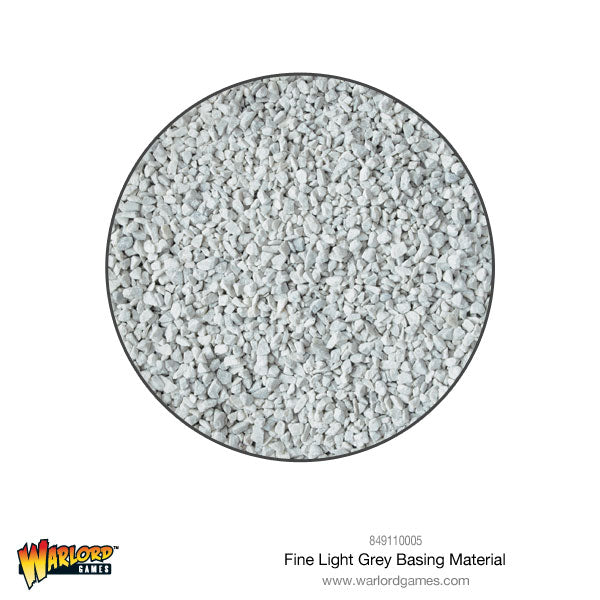 Fine light Grey Basing Material