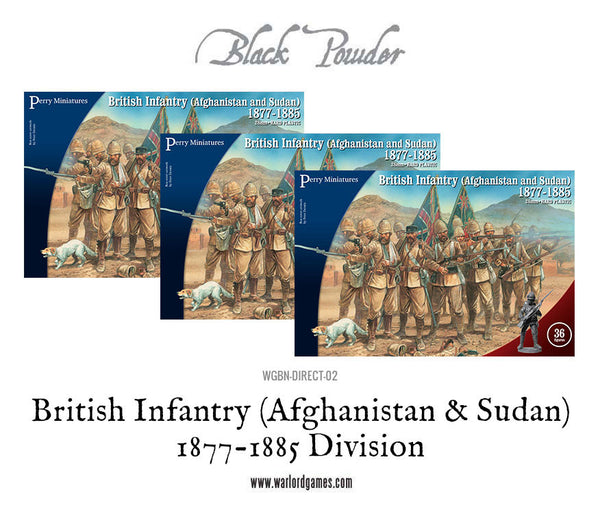 British Infantry (Afghanistan & Sudan) 1877-1885 Division