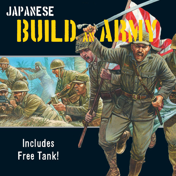 Japanese Build an Army
