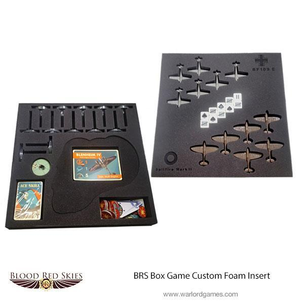 Blood Red Skies Box Game Custom Foam Insert