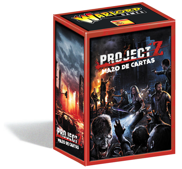Project Z Expansion Cards Spanish