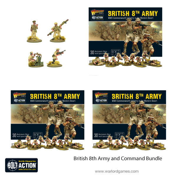 British 8th Army and Command Bundle