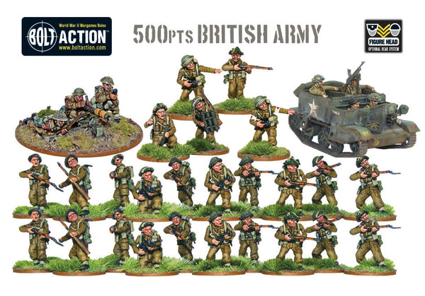 500pts British Army