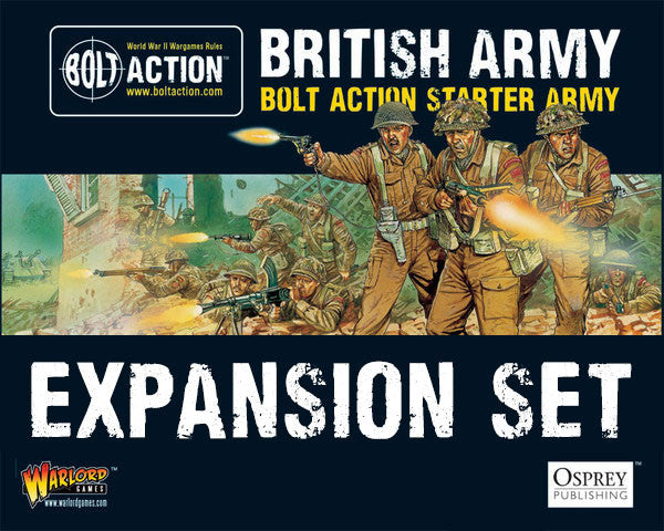 British army warlord games british starter army expansion set fandeluxe