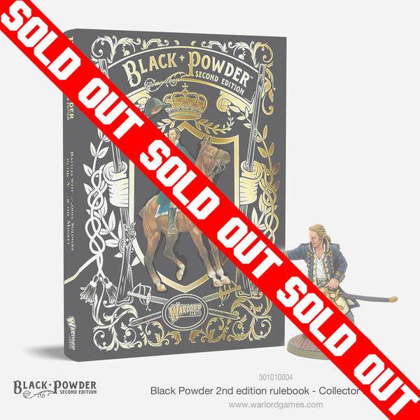 Black Powder II rulebook collectors Edition