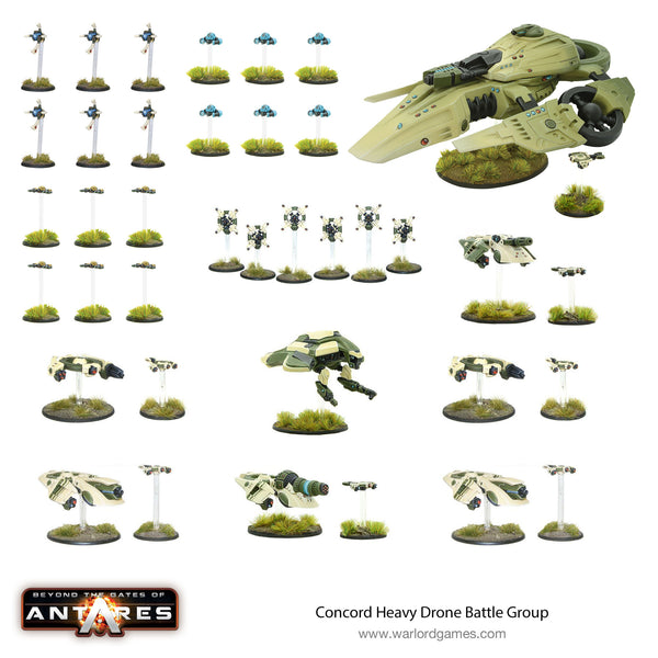 Concord Heavy Drone Assault Battle Group