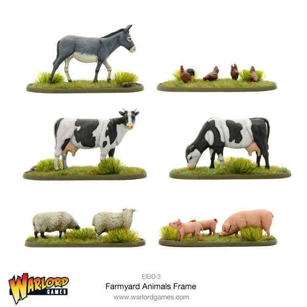 Farmyard Animals set