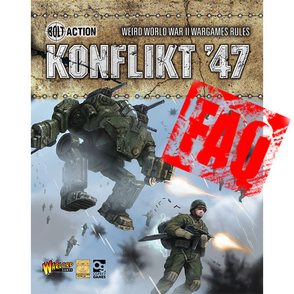 Konflikt '47 Errata and FAQs