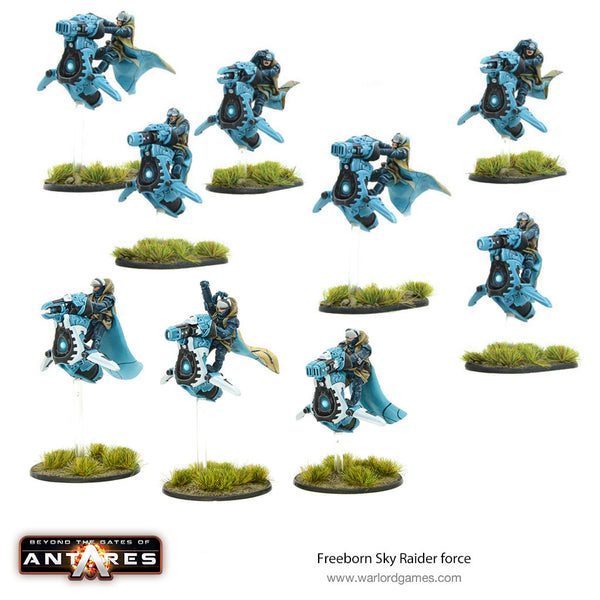 Freeborn Sky Raider force