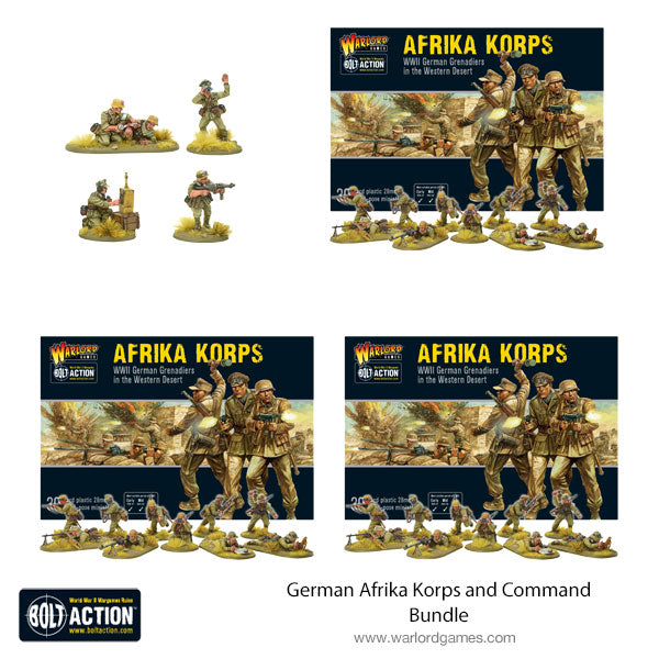 German Afrika Korps and Command Bundle