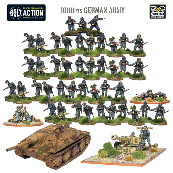 1000pts German Army