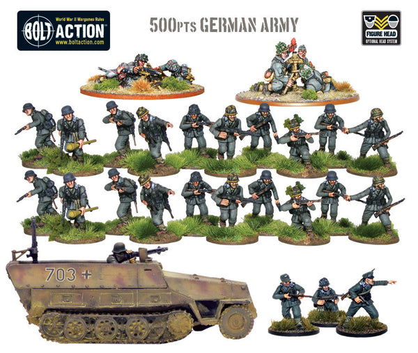 500pts German Army