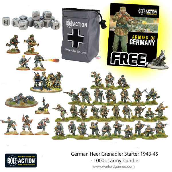 German Heer Grenadier Starter 1943-45 - 1000pt army