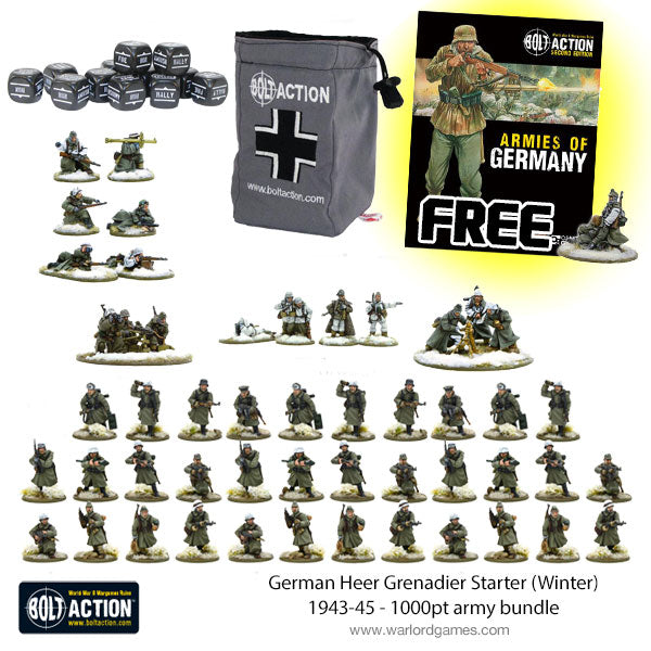 German Heer Grenadier Starter (Winter) 1943-45 - 1000pt army