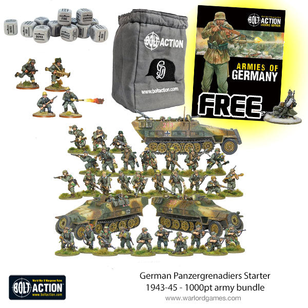 German Panzergrenadiers Starter 1943-45 - 1000pt army