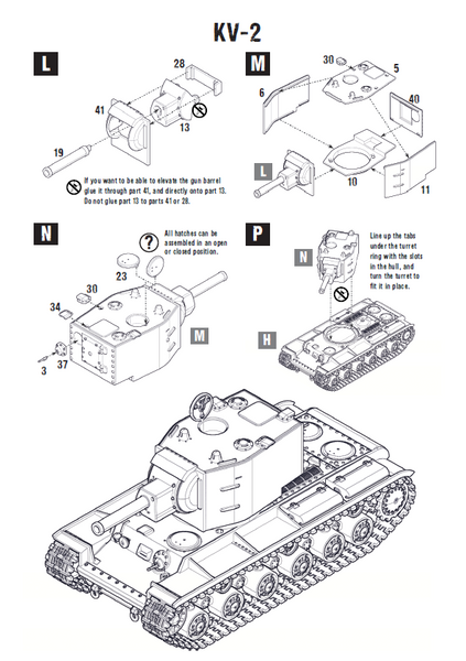 kv1  2 plastic box set