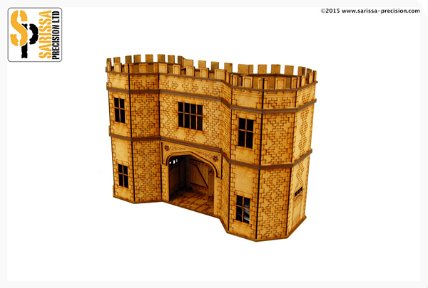 English Timber Framed 28mm Gatehouse